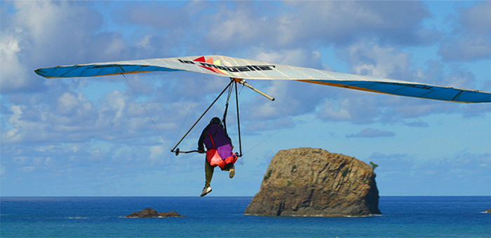 Hang gliding and Paragliding