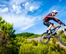 MTB with official trails