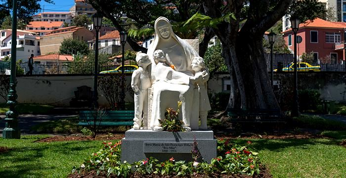 Sculpture of Sister Mary Jane Wilson