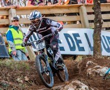 Madeiran Athlete at UCI MTB World Cup