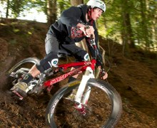 Downhill world champion is filming at Madeira Island