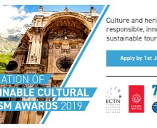 """SUSTAINABLE CULTURAL TOURIST DESTINATIONS"" AWARD"