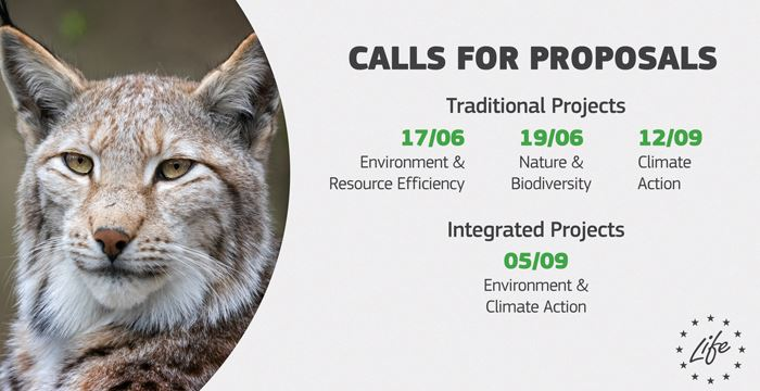 "APPLICATIONS FOR THE ""LIFE CALL 2019 PROGRAMME"""