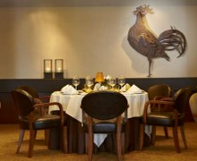 Il Gallo d'Oro restaurant keeps its Michelin star