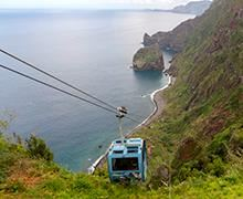 Rocha do Navio Cable Car